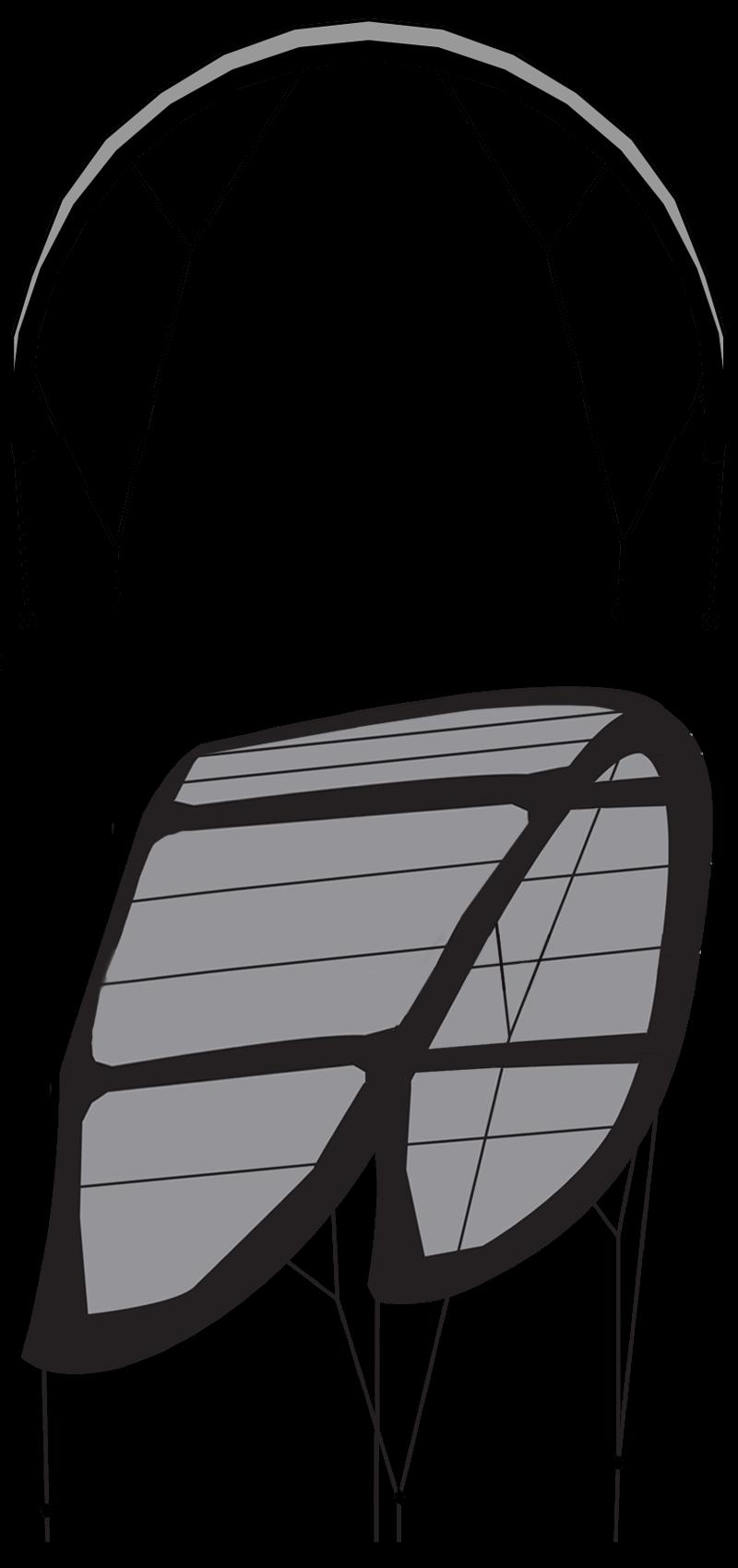 5 aile de kitesurf 5 lattes shape design